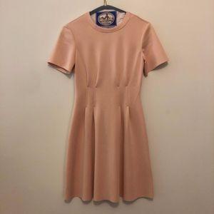 Topshop Pink Short Sleeved Dress